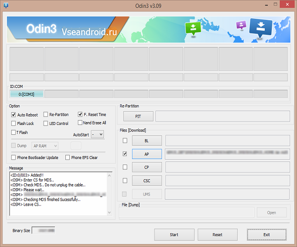 Odin-File-Added-Screen