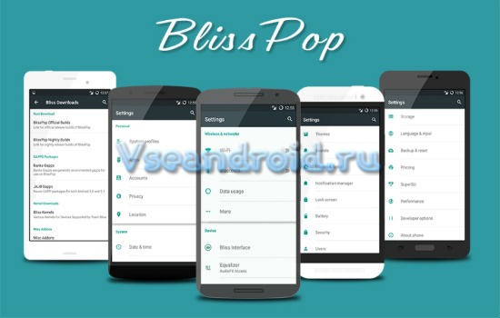 Устанавливаем Android 5.1.1 Lollipop на Galaxy S3 I9300 с помощью BlissPop ROM
